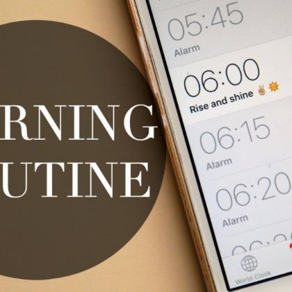 Morning routine & ADHD