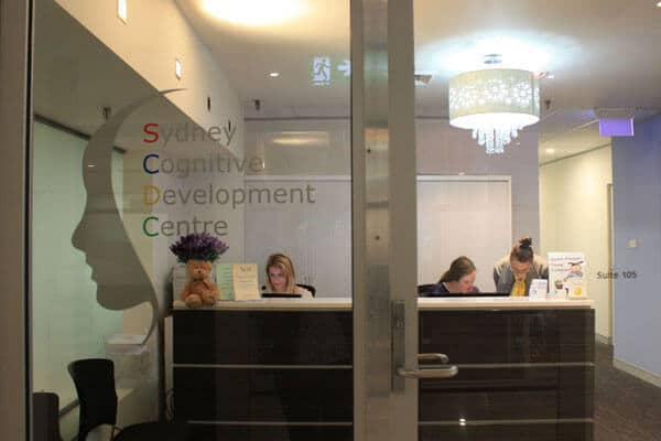 Sydney Cognitive Development Centre Reception